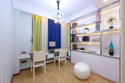 宜家花园三居室现代装修设计效果图