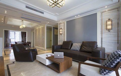 清风华院中式三居室实景效果图