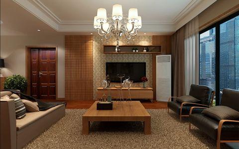 现代风格120平米楼房新房装修效果图