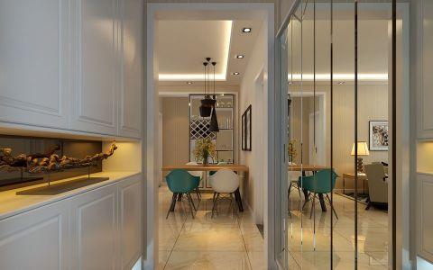 浮光若影漫香堤130平米三居室现代简约