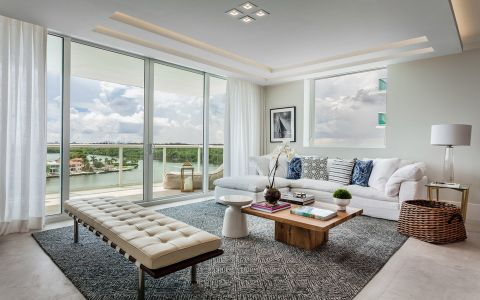 现代简约风格170平米大户型室内装修效果图