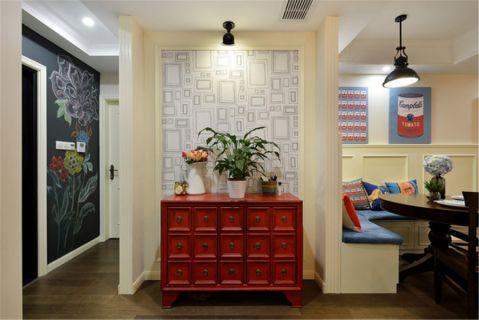 瀚盛家园三居室美式装修效果图