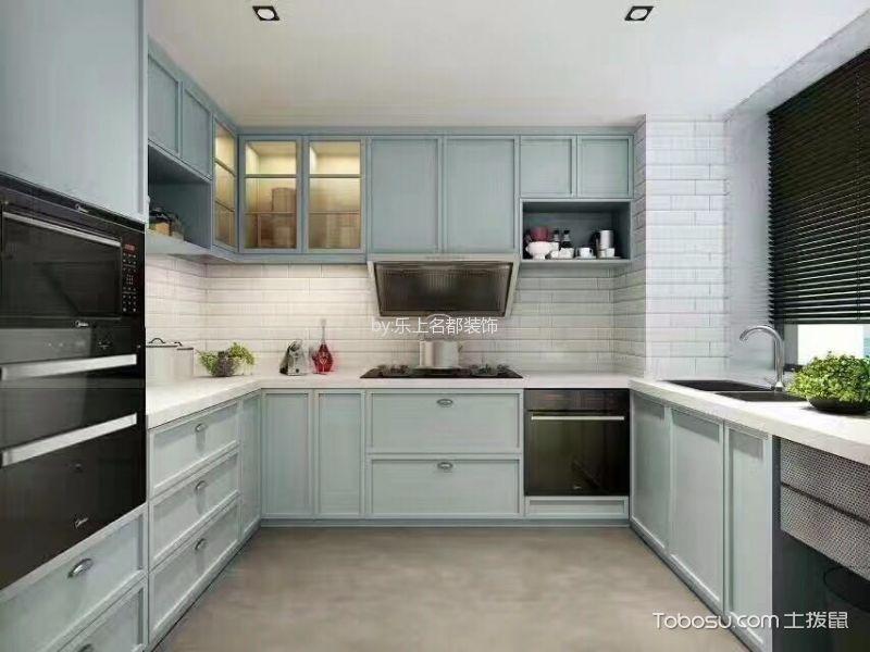 厨房白色背景墙现代风格装潢图片