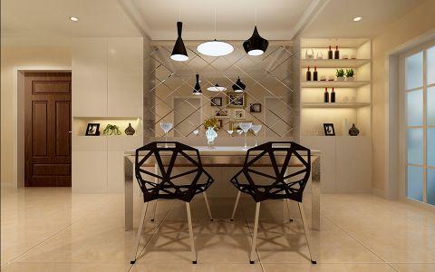 现代风格120平米大户型房子装饰效果图