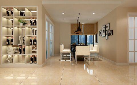 餐厅照片墙现代风格效果图