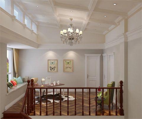书房吊顶现代欧式风格装潢设计图片
