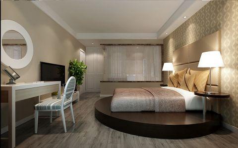 卧室梳妆台简约风格装饰图片