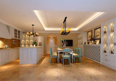 美式风格180平米大户型房子装饰效果图