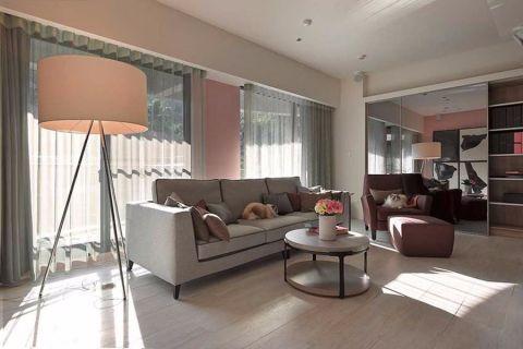 现代简约风格80平米小户型室内装修效果图