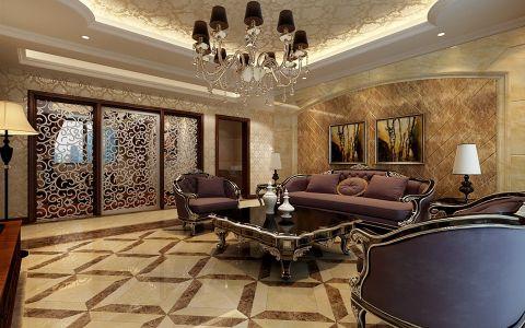 新古典风格150平米大户型房子装饰效果图