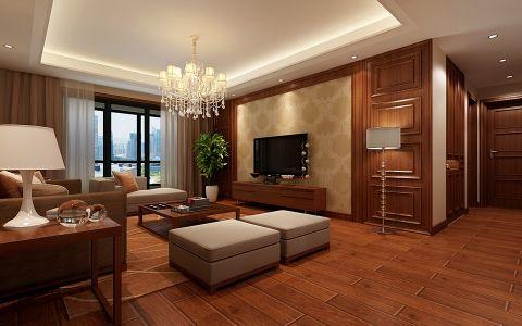 混搭风格180平米大户型房子装饰效果图
