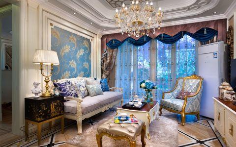 欧式风格134平米3房2厅房子装饰效果图