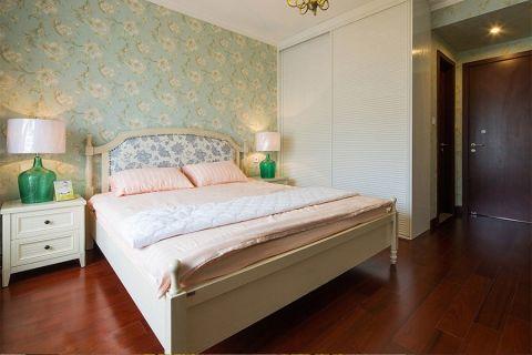 卧室床头柜美式风格装潢图片