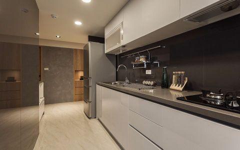 厨房背景墙后现代风格装饰设计图片