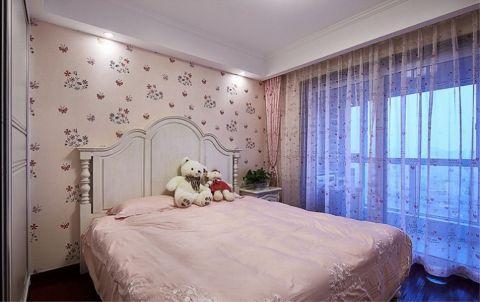 卧室背景墙古典风格装修效果图