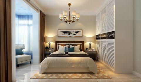 卧室衣柜现代简约风格装饰效果图
