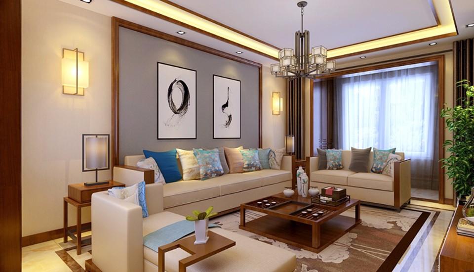 4室2卫3厅180平米新中式风格