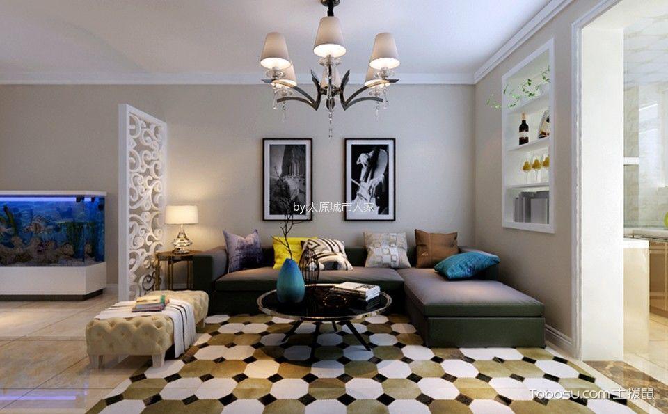东润国际新城三居室现代简约风格装修设计
