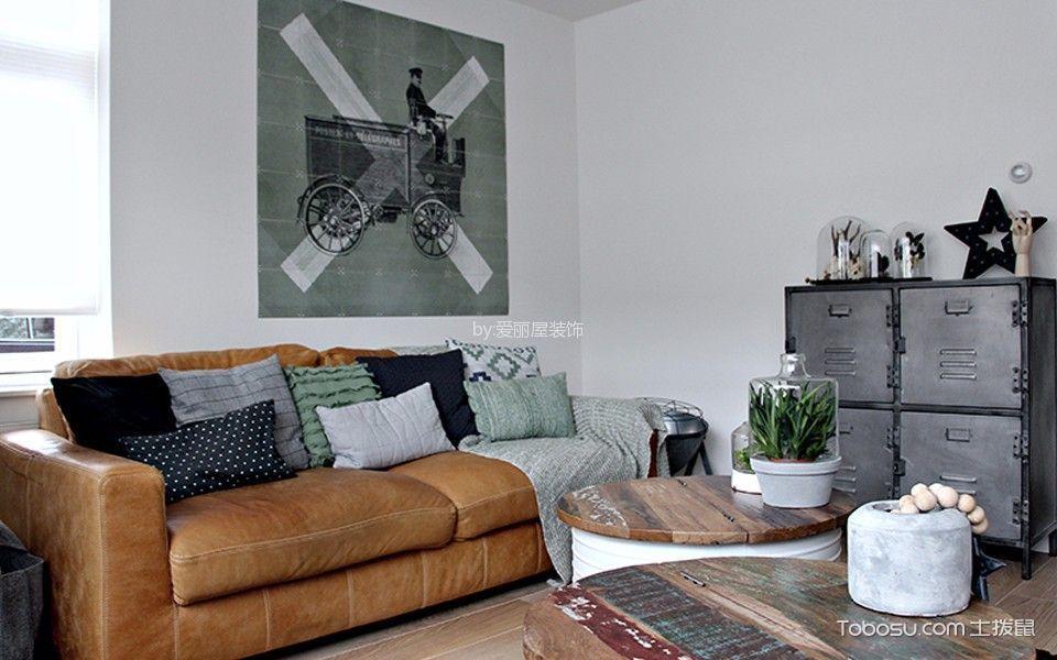 北欧风格112平米公寓室内装修效果图