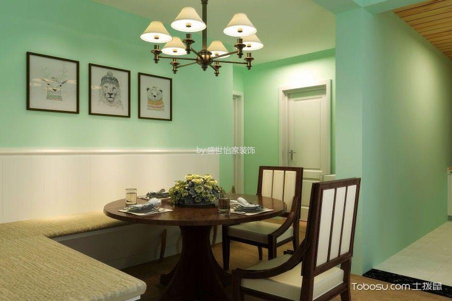 餐厅 照片墙_北欧风格110平米三房两厅新房装修效果图