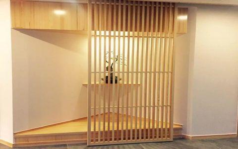 客厅走廊日式风格装修效果图
