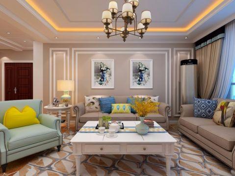 欧式风格150平米大户型房子装饰效果图