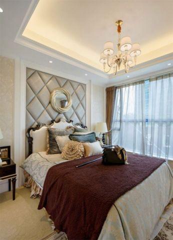 卧室灯具欧式风格装潢图片