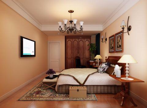卧室灯具美式风格装饰效果图