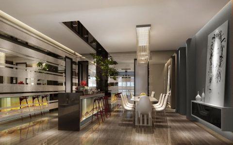 餐厅灯具现代风格装饰图片