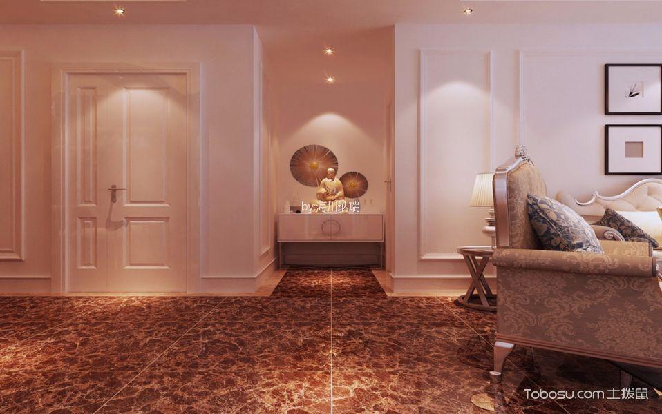 简欧风格120平米四室两厅室内装修效果图