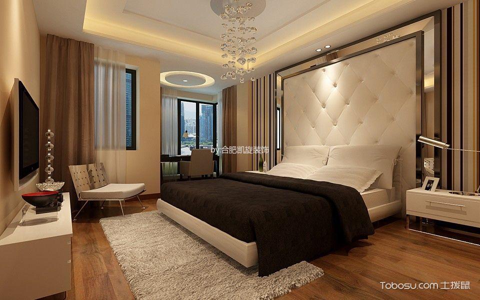 卧室 窗帘_简约风格180平米大户型室内装修效果图
