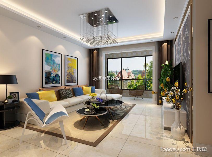 简约风格142平米三室两厅室内装修效果图