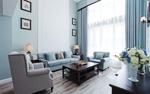 美式风格150平米复式室内装修效果图