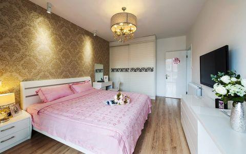 卧室吊顶现代简约风格装饰图片
