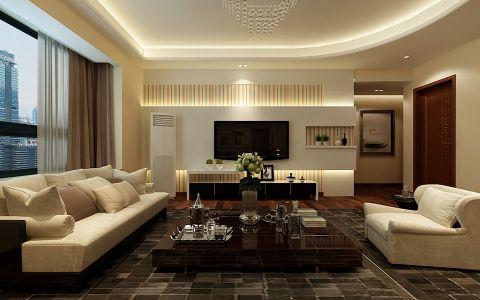 简约风格120平米大户型室内装修效果图