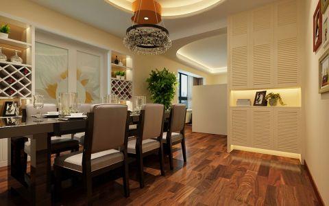 餐厅推拉门简约风格装修设计图片
