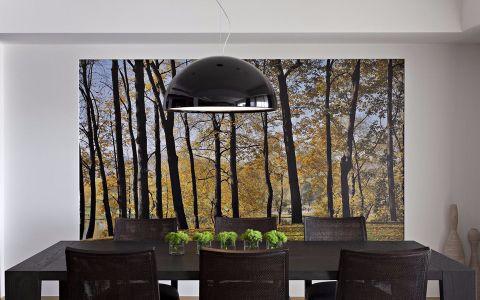 餐厅灯具现代风格装潢设计图片