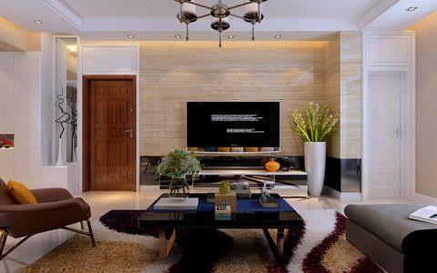 现代简约风格140平米大户型新房装修效果图