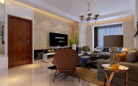 客厅灯具现代简约风格装潢设计图片