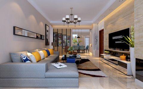 客厅沙发现代简约风格效果图