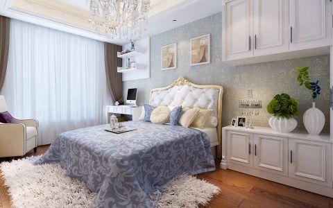 儿童房窗帘欧式风格装饰图片