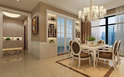 餐厅窗帘简约风格装潢设计图片