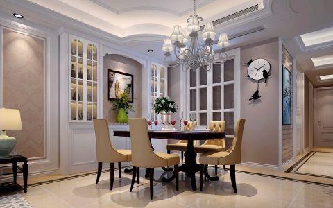 餐厅灯具美式风格装修效果图