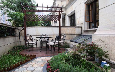 花园地砖欧式风格效果图