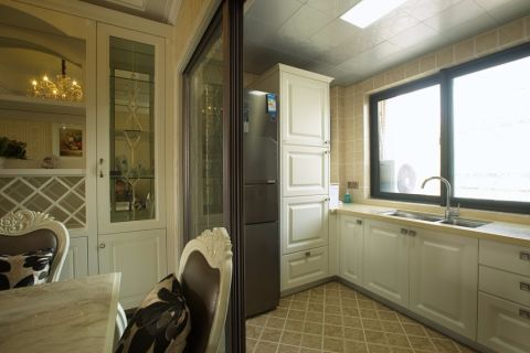 厨房橱柜简欧风格装修效果图
