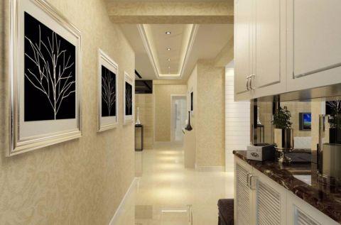 简约风格100平米三房两厅新房装修效果图