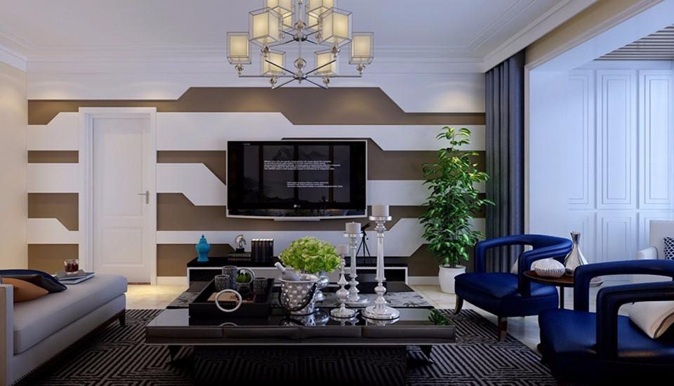 3室2卫1厅150平米现代简约风格