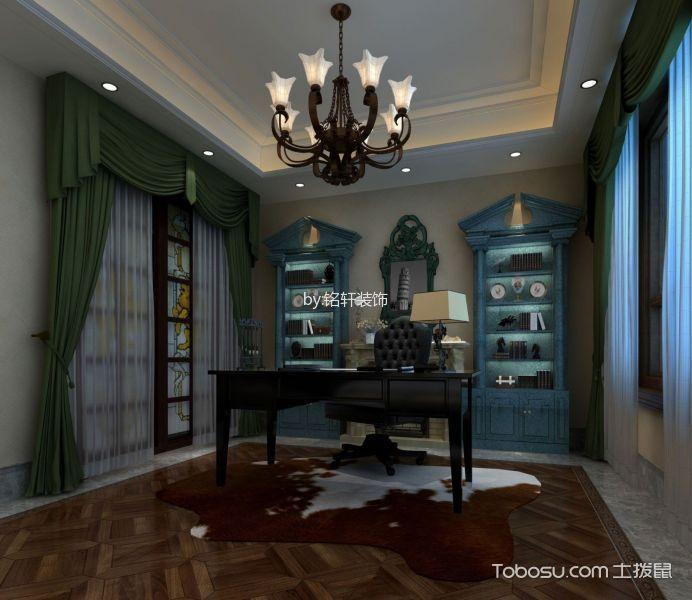 新中式风格200平米别墅房子装饰效果图