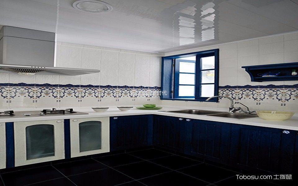 地中海风格130平米4房2厅房子装饰效果图