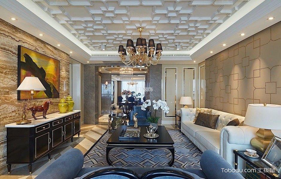 简欧风格185平米四房两厅新房装修效果图
